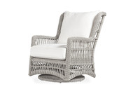 Replacement Cushions for Lloyd Flanders Mackinac High Back Swivel Glider Lounge Chair