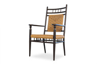 Replacement Cushions for Lloyd Flanders Low Country Vinyl Wicker Dining Armchair