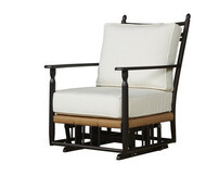 Replacement Cushions for Lloyd Flanders Low Country Vinyl Wicker Glider Lounge Chair