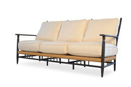 Replacement Cushions for Lloyd Flanders Low Country Vinyl Wicker Sofa