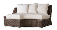 Replacement Cushions for Lloyd Flanders Largo Wicker Right Arm Curved Sofa