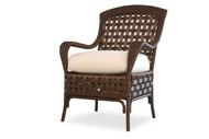 Replacement Cushions for Lloyd Flanders Haven Wicker Dining Armchair