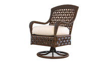 Replacement Cushions for Lloyd Flanders Haven Wicker Swivel Dining Armchair