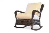 Replacement Cushions for Lloyd Flanders Haven Wicker Lounge Rocker