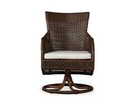 Replacement Cushions for Lloyd Flanders Havana Wicker Swivel Dining Armchair
