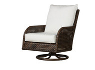 Replacement Cushions for Lloyd Flanders Havana Wicker Swivel Glider Lounge Chair