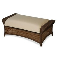 Replacement Cushions for Lloyd Flanders Grand Traverse Wicker Large Ottoman