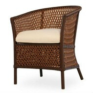 Replacement Cushions for Lloyd Flanders Grand Traverse Wicker Barrel Dining Chair