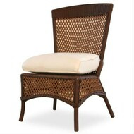 Replacement Cushions for Lloyd Flanders Grand Traverse Wicker Armless Dining Chair