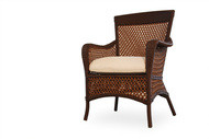 Replacement Cushions for Lloyd Flanders Grand Traverse Wicker Dining Armchair