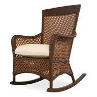 Replacement Cushions for Lloyd Flanders Grand Traverse Wicker Porch Rocker