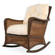 Replacement Cushions for Lloyd Flanders Grand Traverse Wicker Lounge Rocker