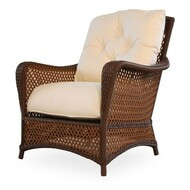 Replacement Cushions for Lloyd Flanders Grand Traverse Wicker Lounge Chair