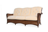 Replacement Cushions for Lloyd Flanders Grand Traverse Wicker Sofa