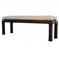 Replacement Cushions for Lloyd Flanders Contempo Wicker Dining Bench