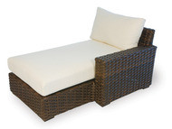 Replacement Cushions for Lloyd Flanders Contempo Wicker Left Arm Chaise