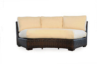 Replacement Cushions for Lloyd Flanders Contempo Wicker Curved Sofa