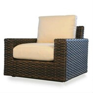 Replacement Cushions for Lloyd Flanders Contempo Wicker Glider Lounge Chair