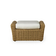 Replacement Cushions for Lloyd Flanders Cayman Wicker Ottoman