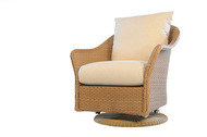Replacement Cushions for Lloyd Flanders Weekend Retreat Wicker Swivel Glider Lounge Chair