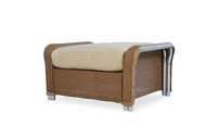 Replacement Cushions for Lloyd Flanders Reflections Wicker Ottoman