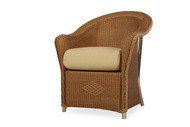 Replacement Cushions for Lloyd Flanders Reflections Wicker Dining Arm Chair