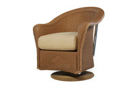 Replacement Cushions for Lloyd Flanders Reflections Wicker Swivel Rocker Dining Arm Chair