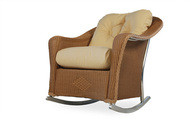 Replacement Cushions for Lloyd Flanders Reflections Wicker Lounge Rocker