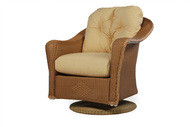 Replacement Cushions for Lloyd Flanders Reflections Wicker Swivel Rocker Lounge Chair