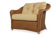 Replacement Cushions for Lloyd Flanders Reflections Wicker Chair And A Half