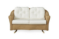 Replacement Cushions for Lloyd Flanders Reflections Wicker Love Seat Glider