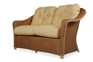 Replacement Cushions for Lloyd Flanders Reflections Wicker Love Seat