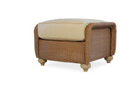Replacement Cushions for Lloyd Flanders Oxford Wicker Ottoman