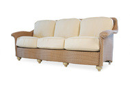 Replacement Cushions for Lloyd Flanders Oxford Wicker Sofa