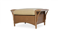 Replacement Cushions for Lloyd Flanders Nantucket Wicker Ottoman