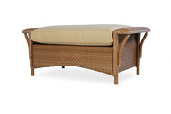 Replacement Cushions for Lloyd Flanders Nantucket Large Wicker Ottoman