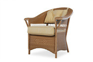 Replacement Cushions for Lloyd Flanders Nantucket Wicker Dining Arm Chair