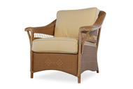 Replacement Cushions for Lloyd Flanders Nantucket Wicker Lounge Chair