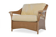 Replacement Cushions for Lloyd Flanders Nantucket Wicker Chair And A Half