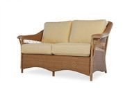 Replacement Cushions for Lloyd Flanders Nantucket Wicker Love Seat