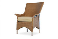 Replacement Cushions for Lloyd Flanders Mandalay Wicker Dining Arm Chair
