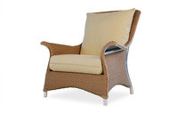 Replacement Cushions for Lloyd Flanders Mandalay Wicker Lounge Chair