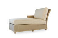 Replacement Cushions for Lloyd Flanders Hamptons Wicker Right Arm Chaise