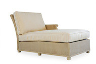 Replacement Cushions for Lloyd Flanders Hamptons Wicker Left Arm Chaise