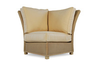 Replacement Cushions for Lloyd Flanders Hamptons Wicker Corner Sectional Chair