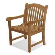 Forever Patio Universal Teak Dining Chair w/ Arms