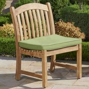 Forever Patio Universal Teak Armless Dining Chair