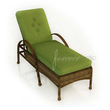 Forever Patio Rockport Wicker Adjustable Chaise Lounge