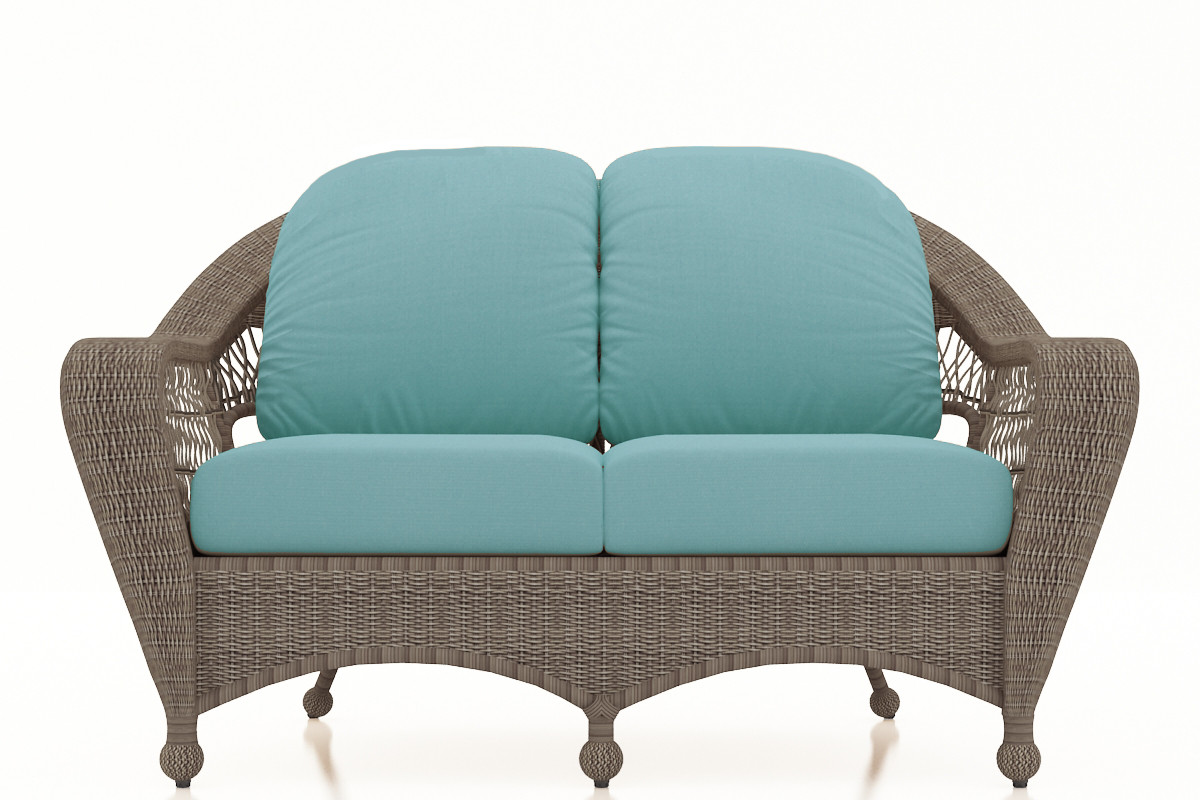 Brilliant Forever Patio Catalina Wicker Loveseat By Northcape International Cjindustries Chair Design For Home Cjindustriesco