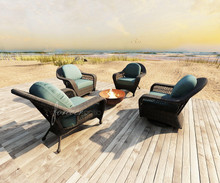Forever Patio 4 Piece Catalina Wicker Chat Set by NorthCape International